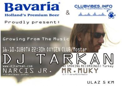 Bavaria & Clubvibes.info proudly Present: Growing from The Music part 2 - with DJ Tarkan