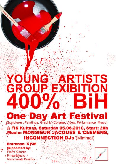 400%BiH, exibition&after party, 5.6.@Fiskultura
