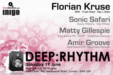 Deep:Rhythm Presents FLORIAN KRUSE